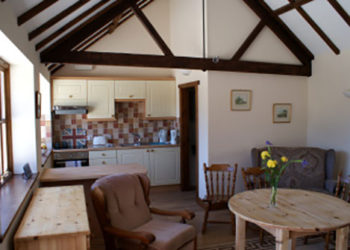 The Kitchen/living area